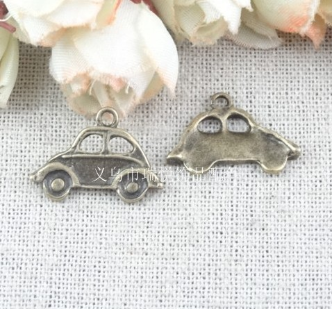 22*15MM taxi car accessories wholesale vintage jewelry DIY charm(China (Mainland))