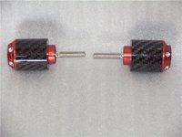 Carbon fiber bar end weight R1 98 08 R6 06 07  RED