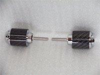 Carbon fiber bar end CBR1000RR 04 05 06 07 08 09 10 chrome