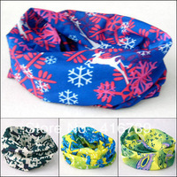 2013 Decoration Outdoor Multifunctional Bandanas Magicaf Sunproof Scarf Wholesale Free Shipping