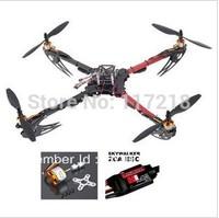X525 V3 QuadCopter Friber Glass Folding ARF PNP Set KK Flight Board Multicopter