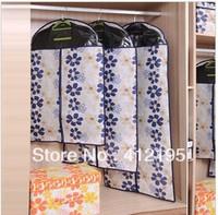 Happy fish sunflower transparent Windows suit dustproof cover clothes dust pocket B950