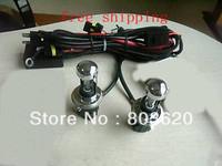 2 pieces a lot 12V 55W 9007-3 HID Hi Lo XENNON BULB 300K-3000K Free shipping