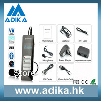 Free Shipping New Arrival 4GB Bluetooth MP3 Player Long Time Voice Recorder ADK-DVR0188