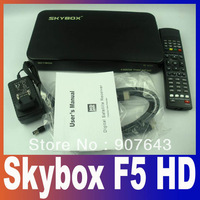 Original Skybox F5 hd PVR 1080P Full HD Dual-Core CPU Satellite Receiver Similar To Skybox F3,Skybox F4 Free Shipping