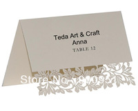 Laser Cut Wedding Decoration Table Number Card