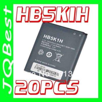 20pcs HB5K1H Battery For Huawei Mobile Phone Ascend II 2 Y200 Y201C C8650 U8650 M865 Sonic vision Talon Prism