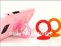 Free shipping Corea 3D Ring phone stand,candy color bobbin winder for mobile suction cup,mobile holder as phone accessory.
