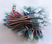 12mm 50-LED RGB Perforation Exposed Led Light String waterproof DC 5V
