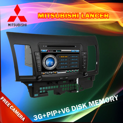 Car Audio system for Mitsubishi Lancer with 3G/GPS/BT/TV/RDS/USB/SD/DVD/CD/IPOD/Canbus/Free shipping(China (Mainland))