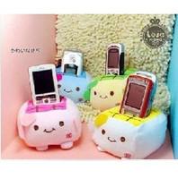 4 pcs/lot  Popular plush cartoon animal lovers cell phone holder