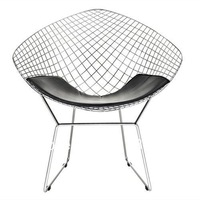 REPLICA HARRY BERTOIA DIAMOND CHAIR LEATHER