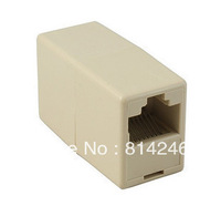 Free Shipping  10pcs  RJ45 cable connector network dual pass head
