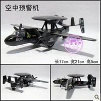 NEW U.S. Navy alloy AWACS aircraft model toy, Color painting air model, pull back/wheels movable/Dial rotatable + free shipping