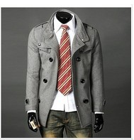 spring autumn /2013 / fashion/men's clothing/badges design/leisure coat/jacket / winter