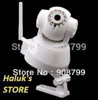 IR Webcam Web CCTV Camera WIFI Wireless IP Camera black or white in retail box. (FREE SHIPPING)