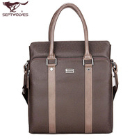 Male backpack handbag SEPTWOLVES casual shoulder bag messenger bag man bag 2033 - 09