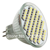 Free shipping 20pcs/lot MR16 SMD 60 LED lamps 4W 220-240V Day white /warm White LED Bulbs Lights +energy saving