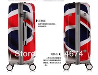 FREE SHIPPING  !!Brand new free shipping ABS +PC Trolley Case PC luggage hardside suitcase caster 28inch