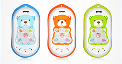 NEW!!!Free shipping Kids mobile phone GPS tracker phone Cute! GK301 quadband children phone Free web based GPS tracking system(China (Mainland))