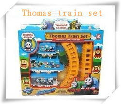 Thomas electric rail train Thomas &amp; Friends Mini electric train set track toy for Kids with package 9300(China (Mainland))