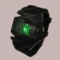 Unisex LED digital Jelly Sport White Wrist Watch DM533B