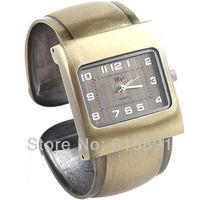 Golden Silver Jewelry Bangle Bracelet Wrist Luxury  Quartz Watch Women's Dress Watch Ladies Style Xmas Gift Free Ship 051012