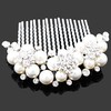 Promotion/Free shipping wholesale//Austria clear crystal comb for Wedding/Engagement Hair Accessories bride hair jewelry