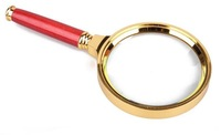 FREE SHIPPING Hand-held High quality Magnifying glass 10x magnifier ,80mm drop shipping,X31