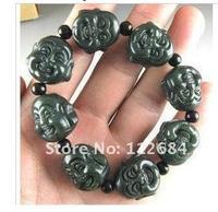 * hetian jade jade bracelet * colleagues    Give a free gift box.