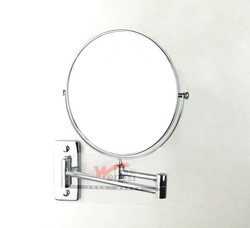 Copper waterproof makeup mirror cosmetic mirror double faced rotating bathroom mirror 6 8 mirror fashion base(China (Mainland))