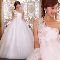 Brand new lovely maternity wedding dress 2013 high waist maternity bride dress made of chiffon satin grid yarn high quality