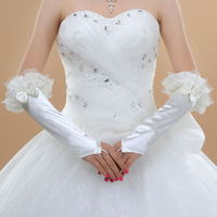New fingerless wedding gloves bridal gloves wedding accessories free shipping