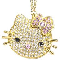 Free shipping 2GB 4GB 8GB 16GB 32GB Hello Kitty jewelry cartoon usb flash drive