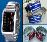 New Fashion Ladies' Electronic Wrist Watch Unusual Design G1021 72 LED Digital Watch