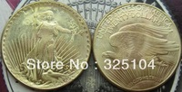 1933 Gold $20 Saint Gaudens Double Eagle Coin COPY FREE SHIPPING