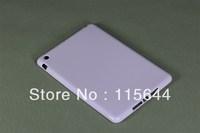 TPU Back Soft Case Cover Protective Skin Shell for Apple iPad Mini Tablet Purple 50pcs/lot 10 Colors Free Shipping