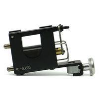 The black Swiss tattoo gun rotary motor tattoo machine equipment supply free shipping