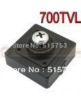 3.7mm Screw lens Mini HD 700TVL Color CCTV Camera with MIC  size30x30mm