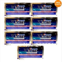 Crest 3D Whitestrips Gentle Routine Whitening 14 strips (7 pouches) , free shipping!