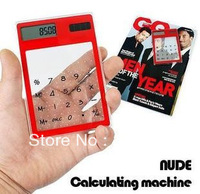 convenient environment friendly Transparent Portable touch screen calculator Fancy calculator