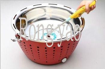 Portable Charcoal BBQ Grill,Mini BBQ Grill with Charcoal, BBQ Grill