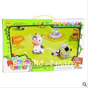Free shipping*English*YQ2980*Fisher Price*baby toys*sofa*play mat*led blanket*gymnastics mats*christmas sayings kids playmat(China (Mainland))