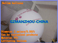 fast (DHL,UPS,FedEx) hot selling inflatable advertising helium PVC balloon with free shipping   2m/6.56ft  Advertisement service