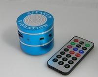Wholesale Resonace Speaker, 10W Bluetooth Vibration Speaker +  FM Function  + TF Support + Remote Control + Battery