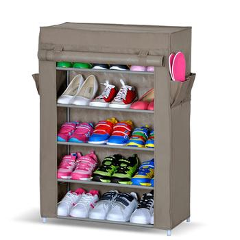 Dusty Prevention Shoe Rack Tree Closet Organizer Storage Shelf Cabinets dustproof
