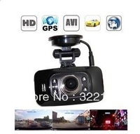 2.7 inch LCD Screen 170 Degree Full HD 1080P Car DVR Camera with GPS /G-Sensor /AV-Out/HDMI Output