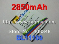 2850mAh High Capacity Battery BL11100 Battery Use for HTC Desire V/VC/VT T328w T328d T328t etc Mobile Phones