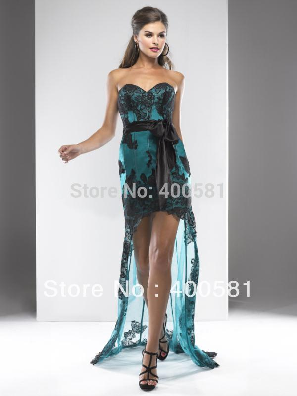 Teal Prom Dresses 2013 Lace Prom Dresses 2013