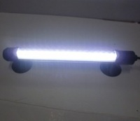 LED aquarium light with switch / lamp in water / diving light 30LED long 28CM